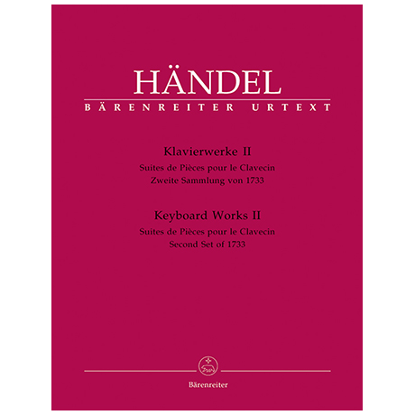 Händel, G. F.: Klavierwerke Band 2 HWV 434-442