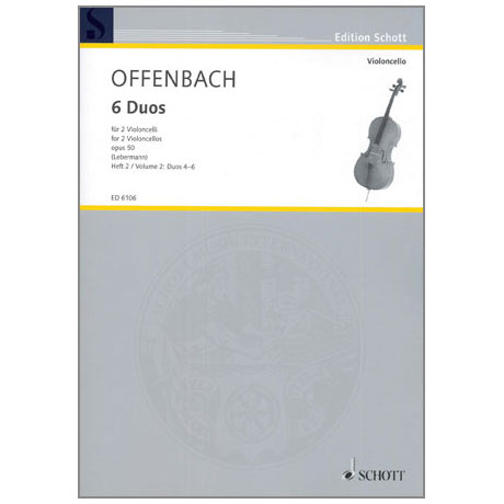 Offenbach, J.: 6 Duos Op. 50 Band 2
