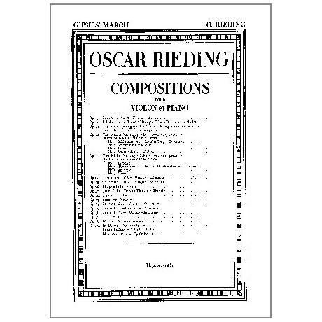 Rieding, O.: Zigeunermarsch Op. 23 Nr. 2