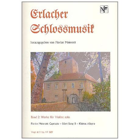 Meierott, F.: Erlacher Schlossmusik Band 2