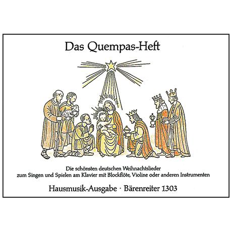 Das Quempasheft – Die schönsten deutschen Weihnachtslieder
