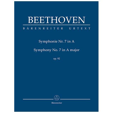 Beethoven, L. v.: Symphonie Nr. 7 A-Dur Op. 92