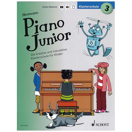 Heumann, H.-G.: Piano Junior – Klavierschule Band 3 (+Online Material)