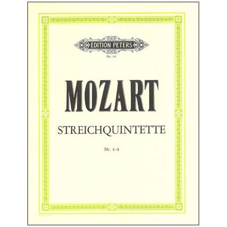 Mozart, W. A.: Streichquintette Band 1 KV 406, 515, 516, 593, 614