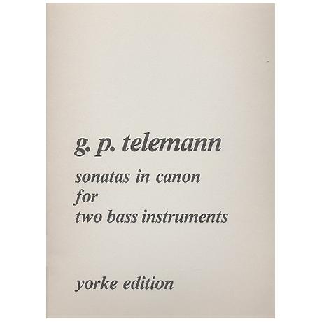Telemann, G. Ph.: Sonaten in Kanon TWV 40:118-123