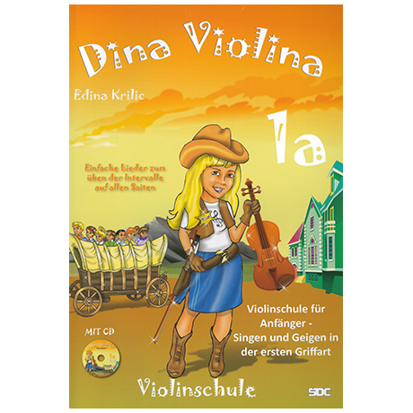 Krilic, E.: Dina Violina Band 1a (+CD)