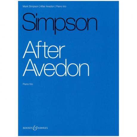 Simpson, M.: After Avedon