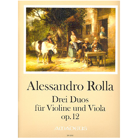 Rolla, A.: 3 Duos Op.12
