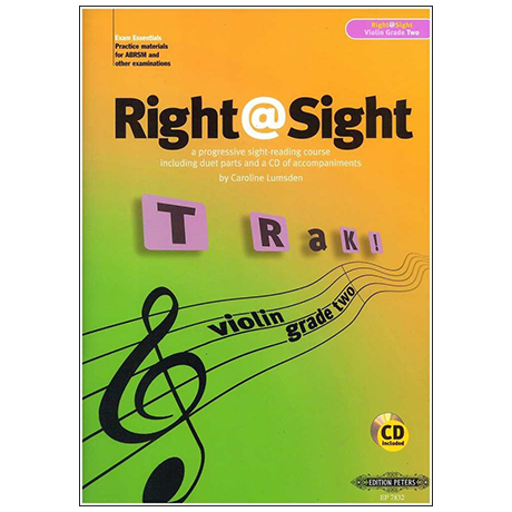 Lumsden, C.: Right@Sight for Violin Grade 2 (+CD)