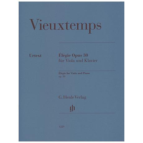 Vieuxtemps, H.: Élégie Op. 30