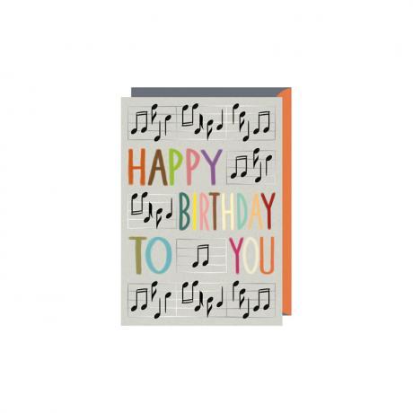 Doppelkarte Happy Birthday