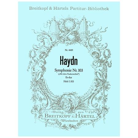 Haydn, J.: Symphonie Nr. 103 Es-Dur Hob I:103