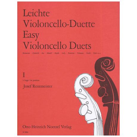 Rentmeister, J.: Leichte Violoncello-Duette Band 1