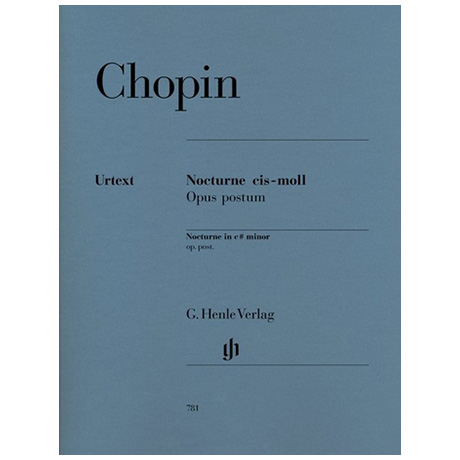 Chopin, F.: Nocturne cis-Moll Op. post.