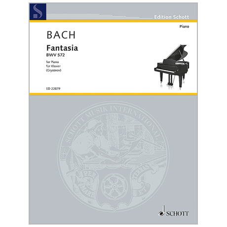 Bach, J. S.: Fantasia BWV 572 G-Dur