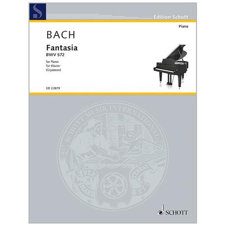 Bach, J. S.: Fantasia BWV 572 G-Dur