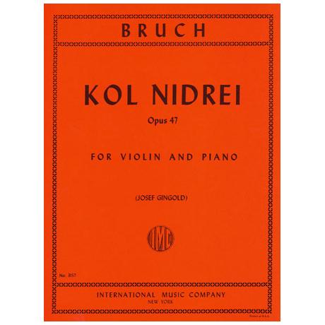 Bruch, M.: Kol Nidrei op. 47