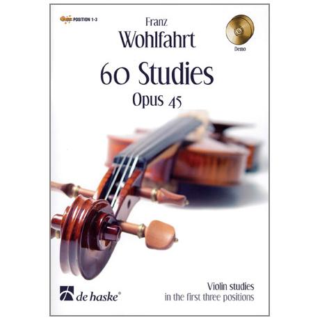 Wohlfahrt, F.: 60 Studies Op. 45 (+ 2 CD's)