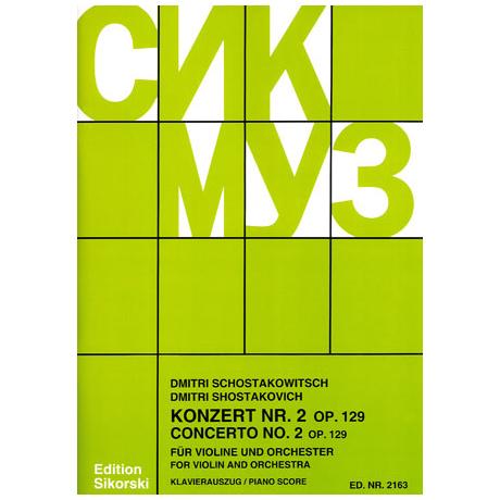 Schostakowitsch: Violinkonzert Nr.2 op.129