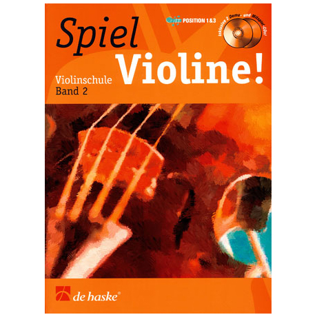 Elst, J.v.: Spiel Violine Band 2 (+ 2 CD´s)