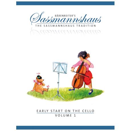 Sassmannshaus, E./K.: Early Start on the Cello Volume 1
