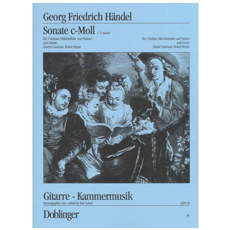 Händel, G.F.: Sonata c-moll Op.2/1