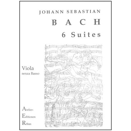Bach, J.S.: 6 Suiten BWV 1007-1012 – für Viola