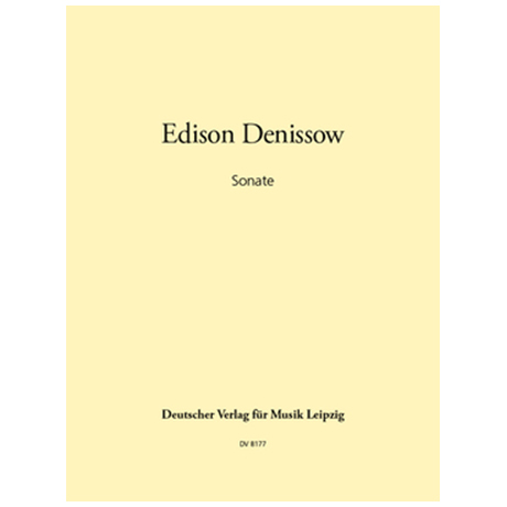 Denissow, E.: Violinsonate (1982)