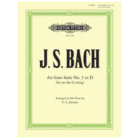 Bach, J. S.: Air aus der Suite Nr. 3 D-Dur