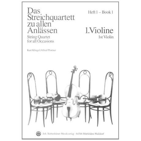 Das Streichquartett zu allen Anlässen Band 1 – Violine 1