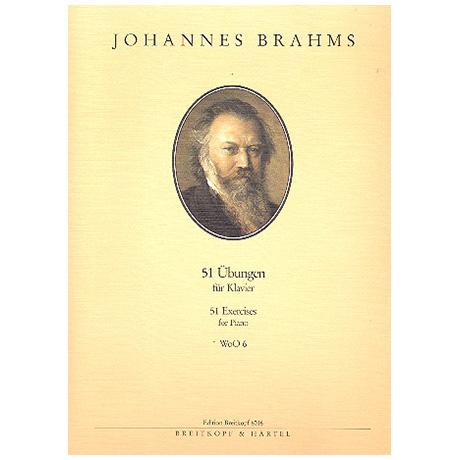 Brahms, J.: 51 Übungen (1893)