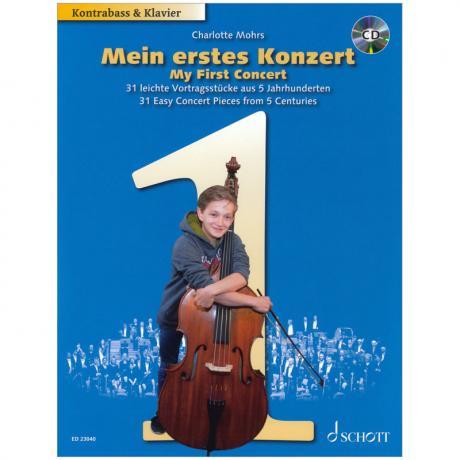 Mohrs, Ch.: Mein erstes Konzert – 31 leichte Vortragsstücke (+CD)