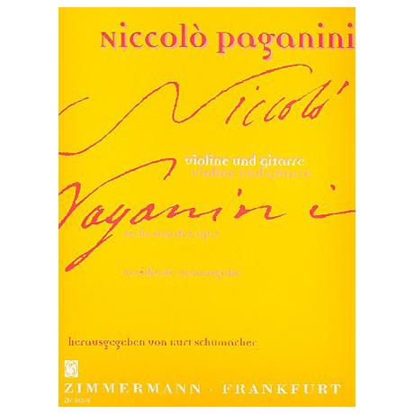 Paganini, N.: 6 Sonaten Op.2
