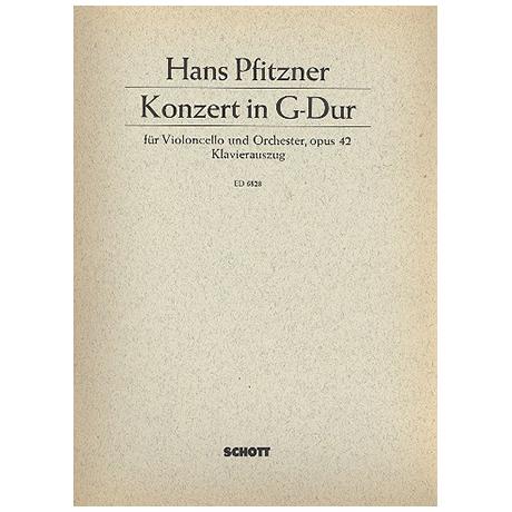 Pfitzner, H.: Violoncellokonzert Op. 42 G-Dur