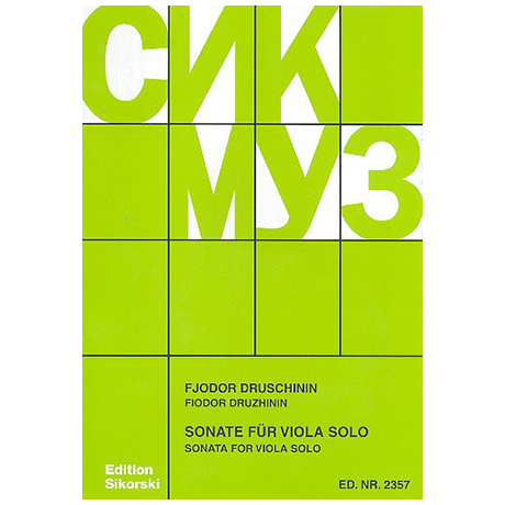 Druschinin, F.: Sonate