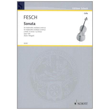 Fesch, W.d.: Sonata Op.13 Nr.6 a-moll