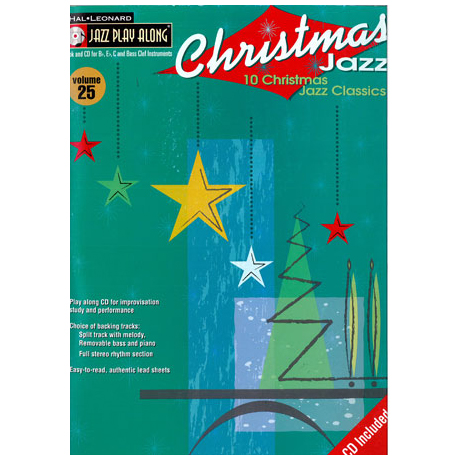 Jazz Play Along: Volume 25 – Christmas Jazz