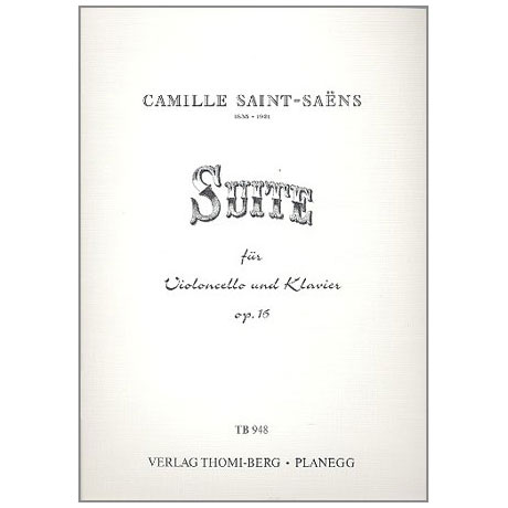 Saint-Saens, C.: Suite Op.16