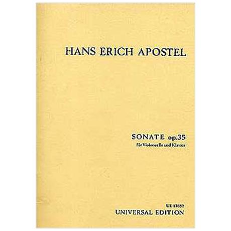 Apostel, H. E.: Violoncellosonate Op. 35