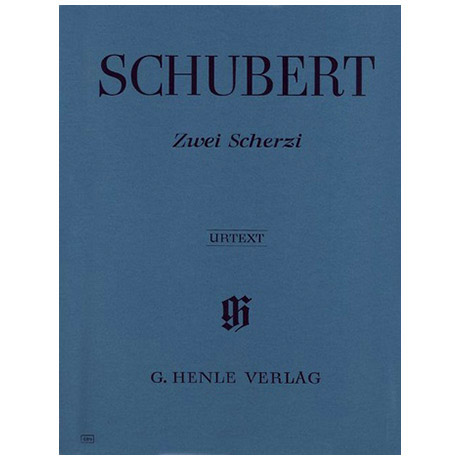 Schubert, F.: 2 Scherzi B-Dur und Des-Dur D 593