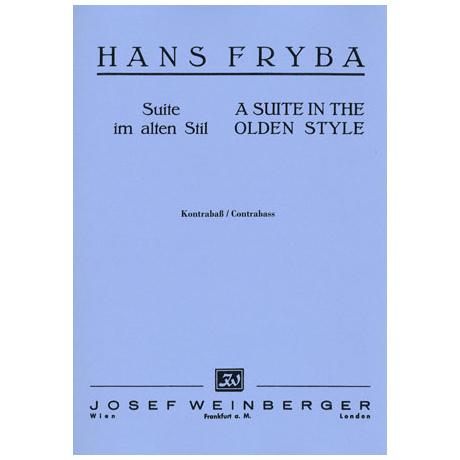 Fryba, H.: Suite im alten Stil