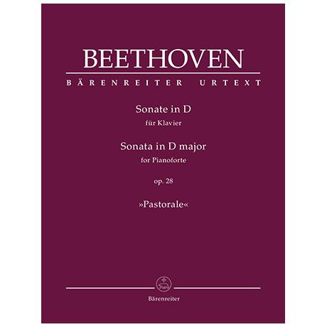 Beethoven, L. v.: Sonate Op. 28 D-Dur »Pastorale«