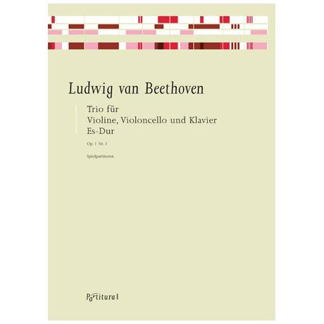 Beethoven, L. v.: Klaviertrio Op. 1/1 Es-Dur