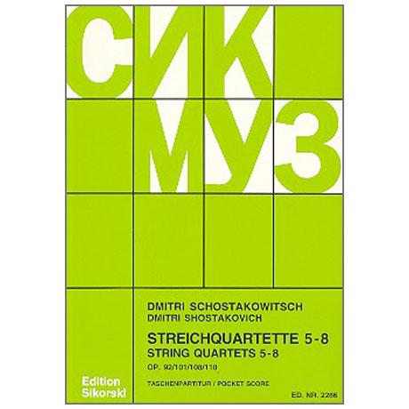 Schostakowitsch, D.: Streichquartette Nr. 5-8