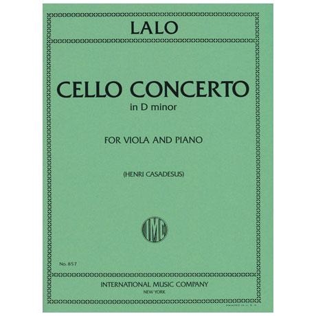 Lalo, E.: Cellokonzert in d-moll