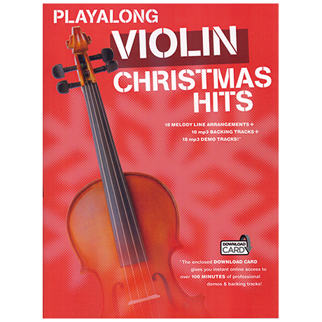 Playalong: Violin – Christmas Hits