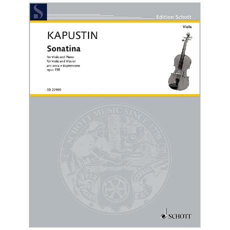 Kapustin, N.: Sonatina Op. 158 (2015)