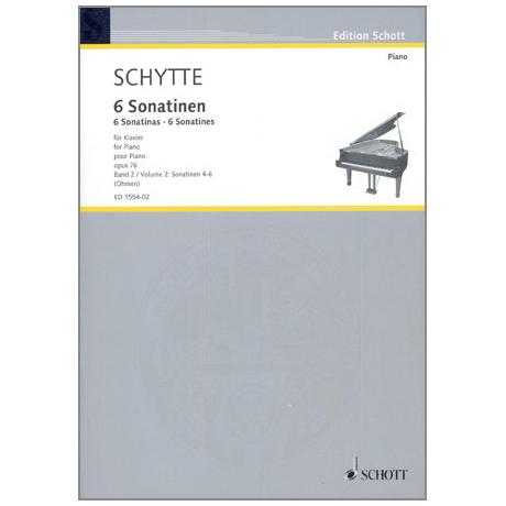 Schytte, L.: 6 Sonatinen Op. 76 Band 2