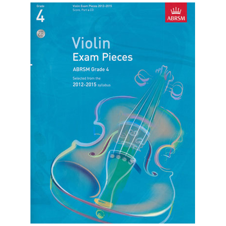 ABRSM: Selected Violin Exam Pieces Grade 4 (2012-2015) (+CD)