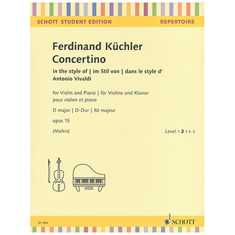 Küchler, F.: Concertino D-Dur Op.15